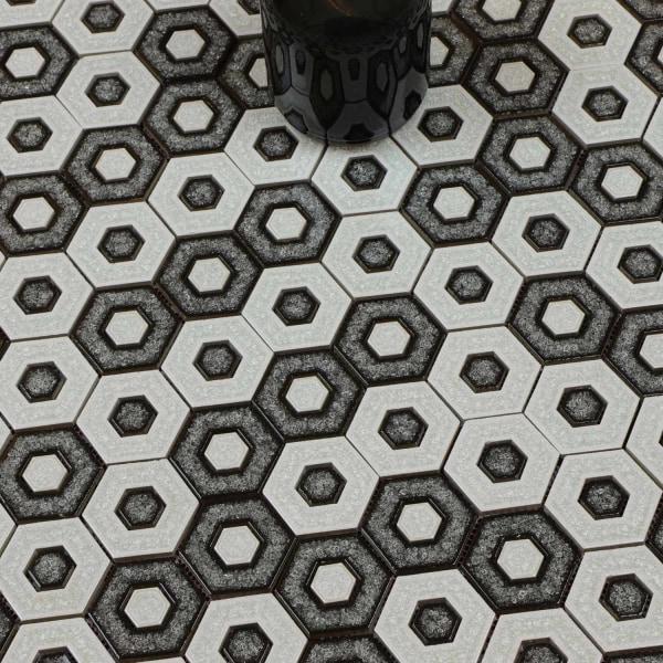 Mosaik D-sign Hexagon Invert multifärg