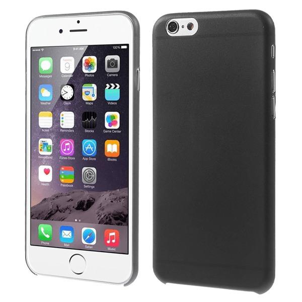 0,3mm Plastskal till iPhone 6, Svart