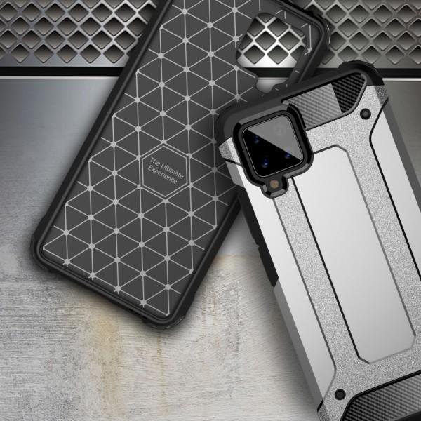 Armor Guard Skal för Samsung Galaxy A42 - Mörkblå