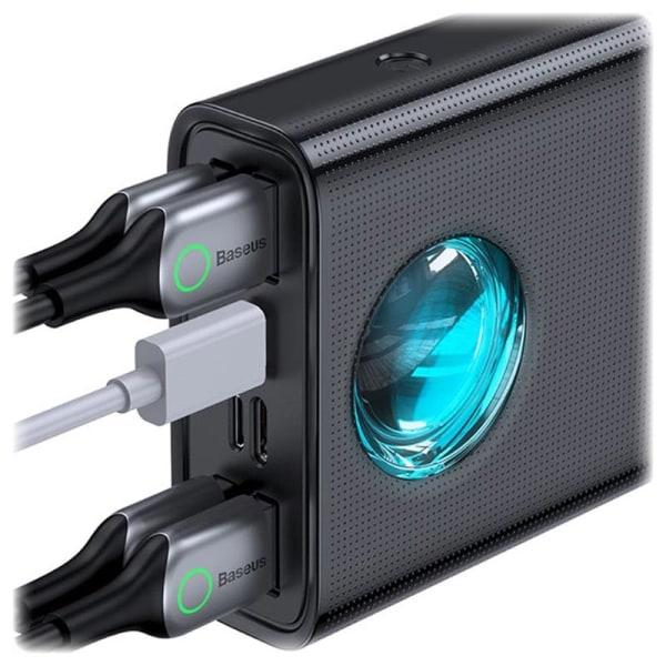 Baseus Amblight Q.C Powerbank med Display, 30.000mAh, 33W