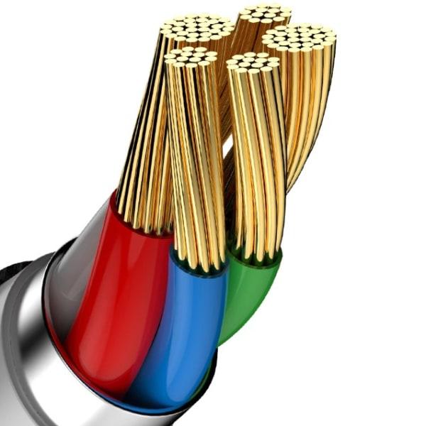 Baseus USB-C till USB-C, QC 3.0, USB-C PD, 3A 2 m