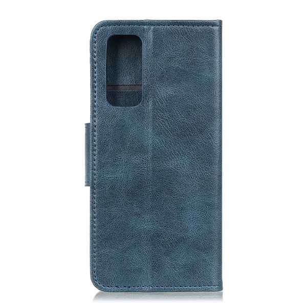 Crazy Horse Plånboksfodral för OnePlus 9 Pro - Blå