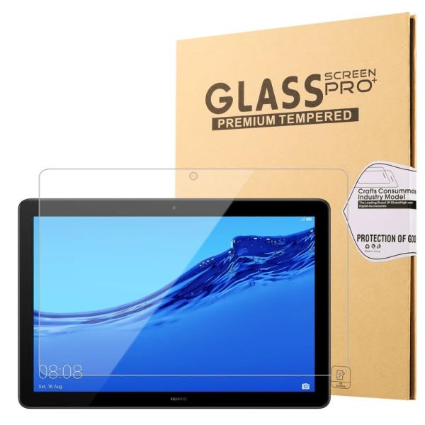 Heltäckande Skärmskydd i Härdat Glas för MediaPad T5 10
