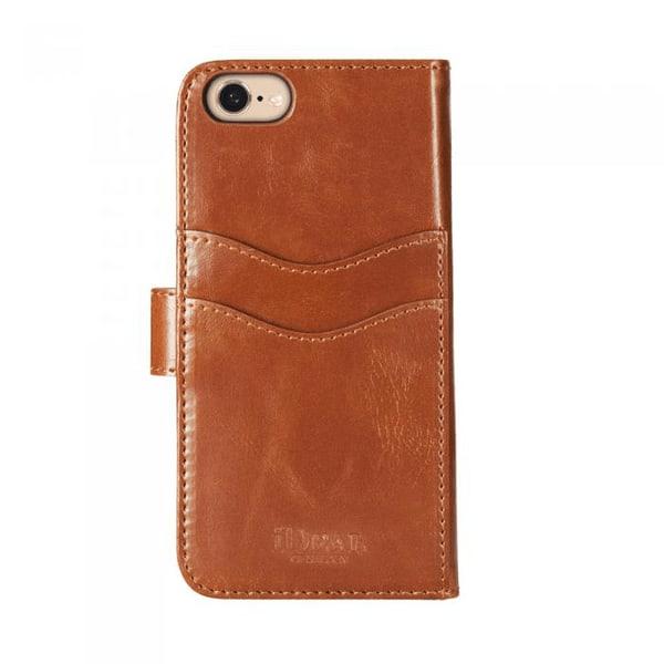 IDEAL MAGNET WALLET Plånboksfodral iPhone 7, brun