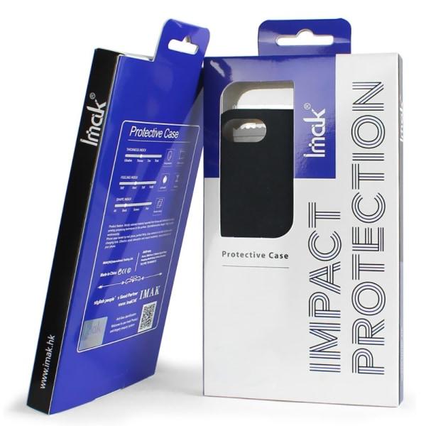 IMAK Skal med Ringhållare + Stativ för Sony Xperia XZ3
