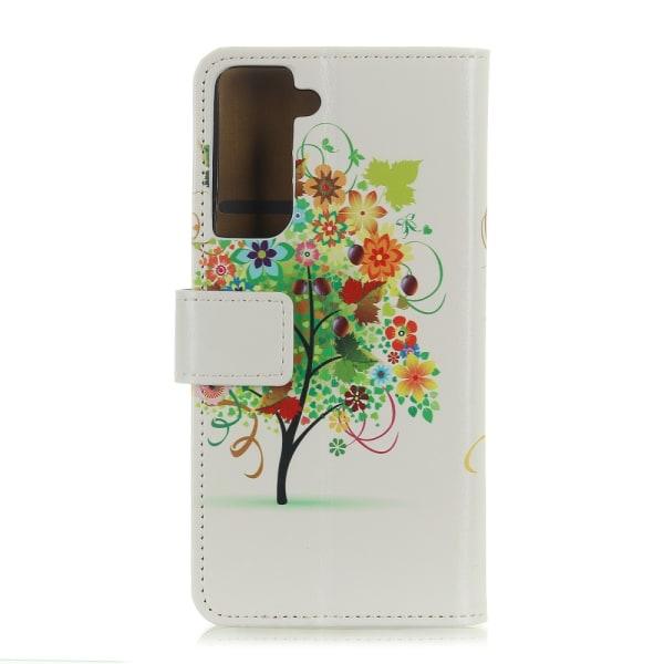 Plånboksfodral för Samsung Galaxy S21 Plus - Colorful Tree