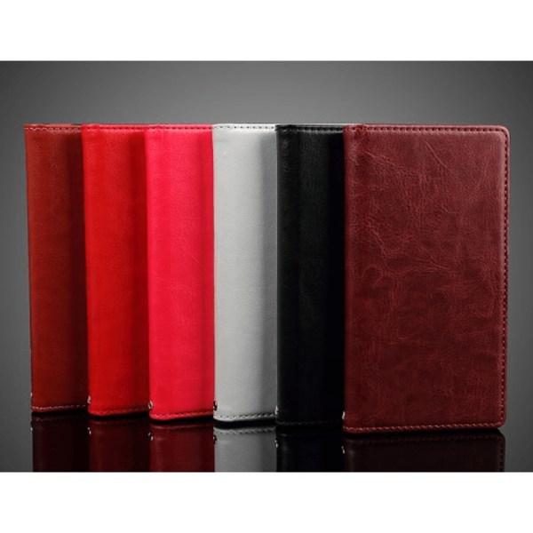 Plånboksfodral från Faux till Xperia Z5, Rosa