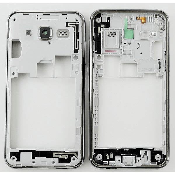 Samsung J5 - Mitten- och sidoknappar och kameralins