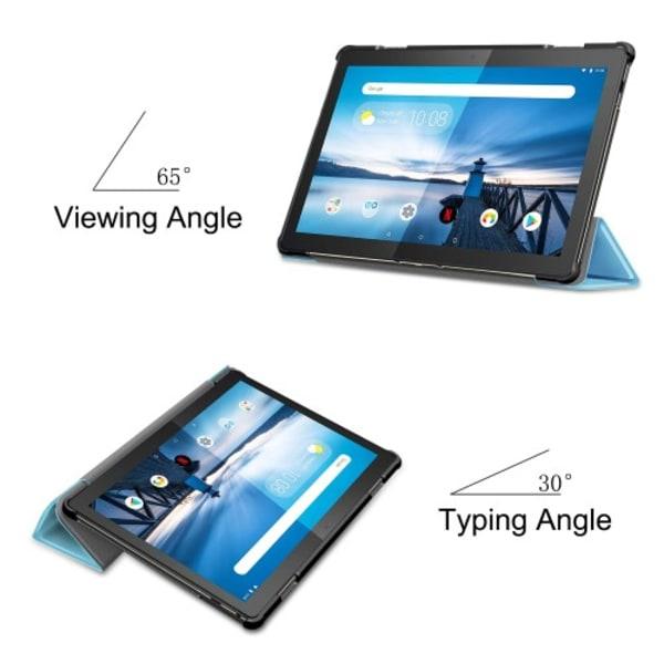 Tri-Fold Fodral till Lenovo Tab M10 - Baby Blå