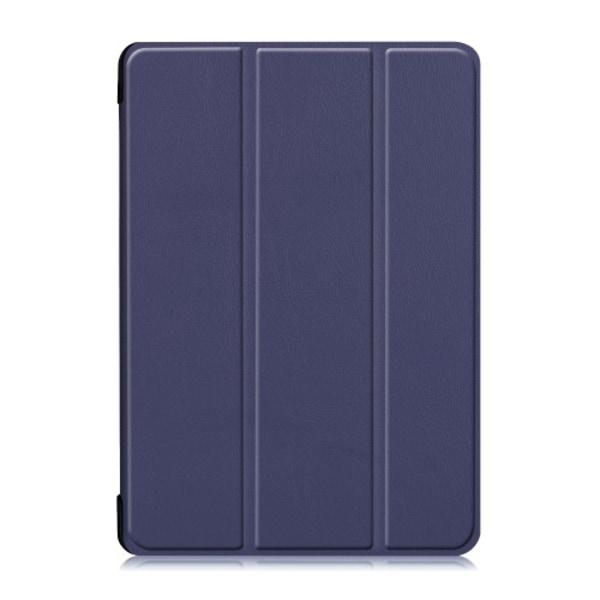 Tri-Fold Fodral till Lenovo Tab M10 - Mörkblå