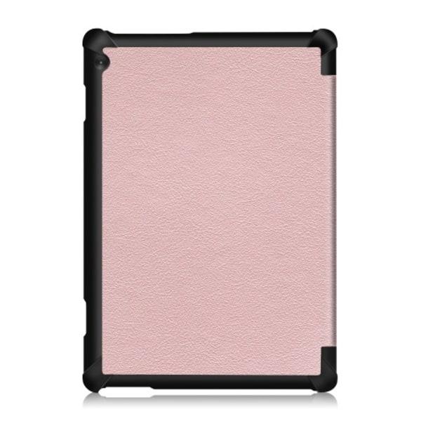 Tri-Fold Fodral till Lenovo Tab M10 - Rosa