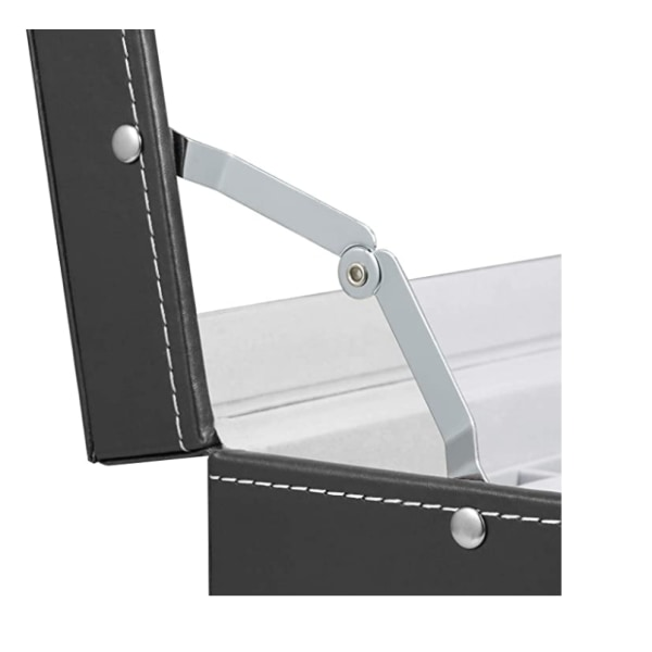 Faux Leather Watch Box for 12 Watches