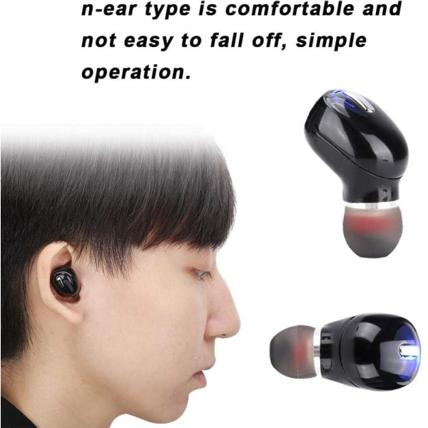 Mini Invisible Bluetooth 5.0 Earbud, Wireless Earbud, Universal