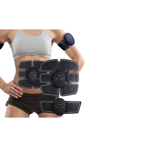 Muskelstimulatoruppsättning för ABS, armar och ben