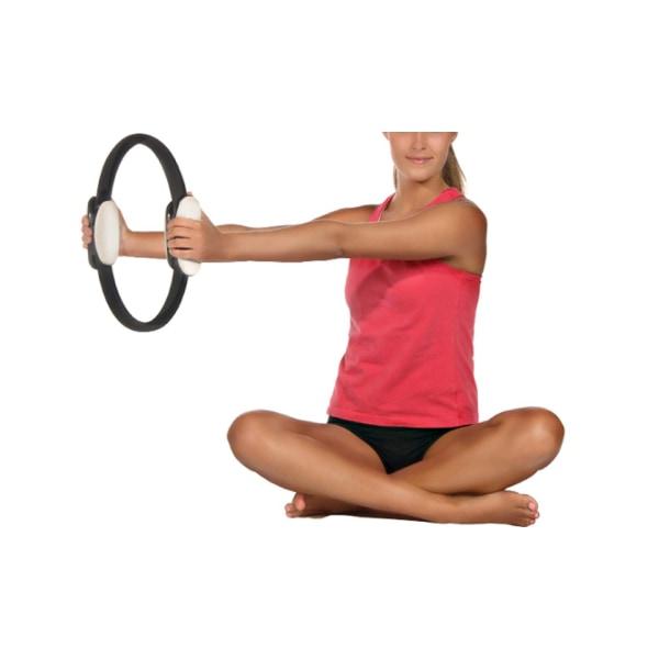 Pilates ring cirkel muskler övning Svart