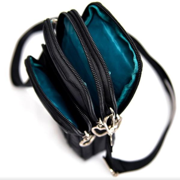 Vattentäta Crossbody väskor  Marinblå