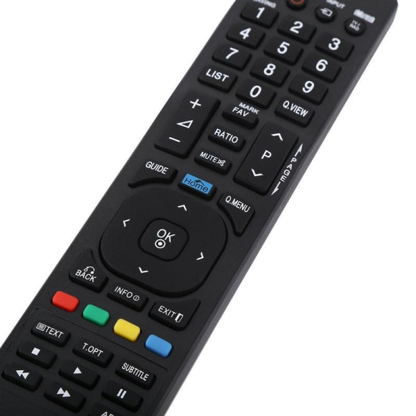 LG TV Smart fjärrkontrollersättning AKB72915244 Svart