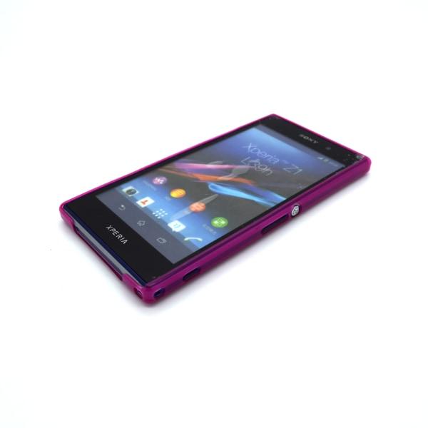 Sony Xperia Z1 L39h Skydd Skal Case Rosa Rosa