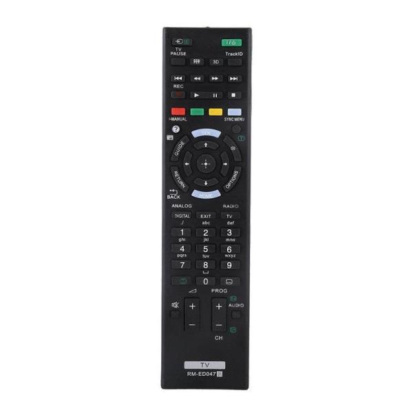 Universal RM-ED047 fjärrkontroll ersätter Sony HDTV LED Svart