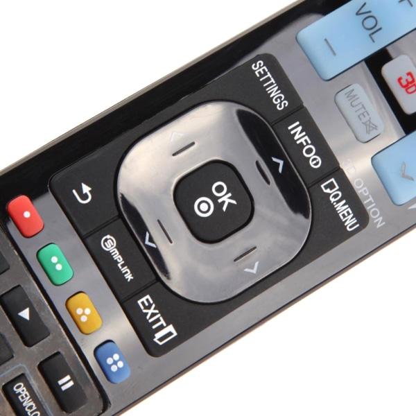 Universell fjärrkontroll ersätter LG smart 3D-TV Svart