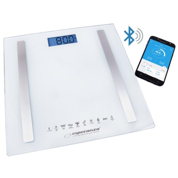 Våg för hemmet - EBS016W Bluetooth 8i1 B.FIT - VIT