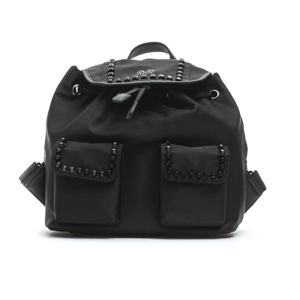 Backpack Black Versace 19v69 Woman Unique