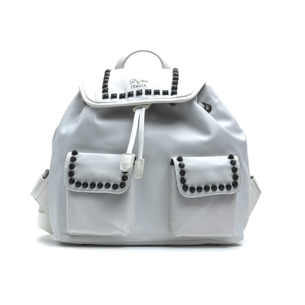 Backpack White Versace 19v69 Woman Unique
