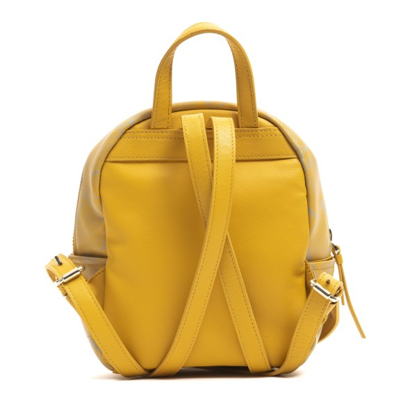 Backpack yellow Cerruti 1881 Woman Unique