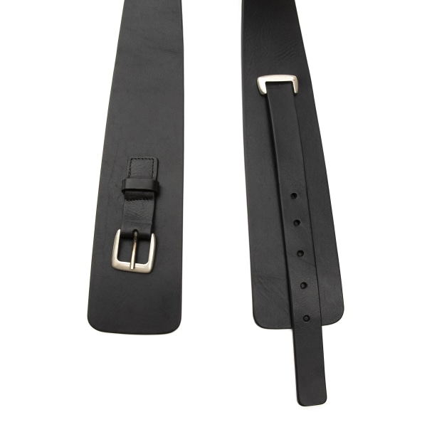 Belt Black Alpha Studio Woman Unique