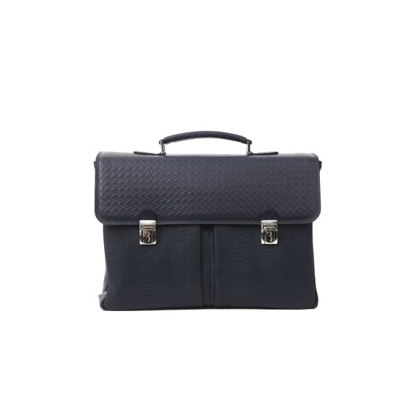 Briefcase Blue Billionaire Man Unique