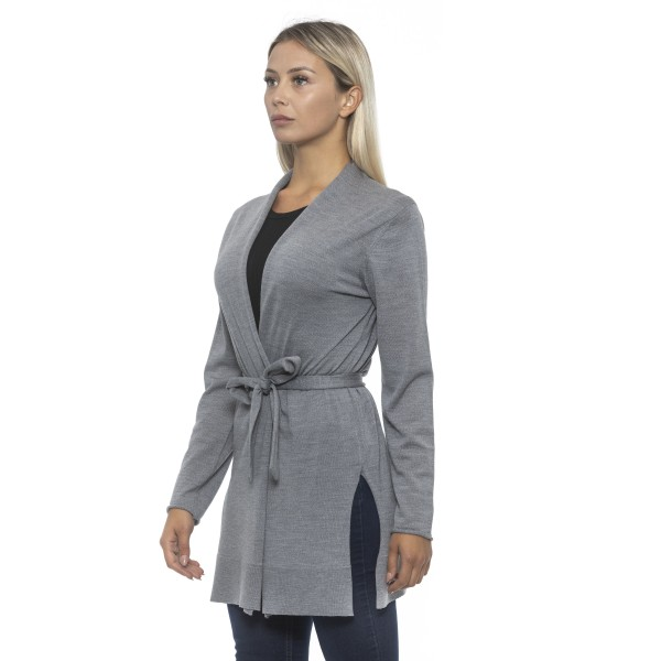 Cardigan grey Alpha Studio Woman 44