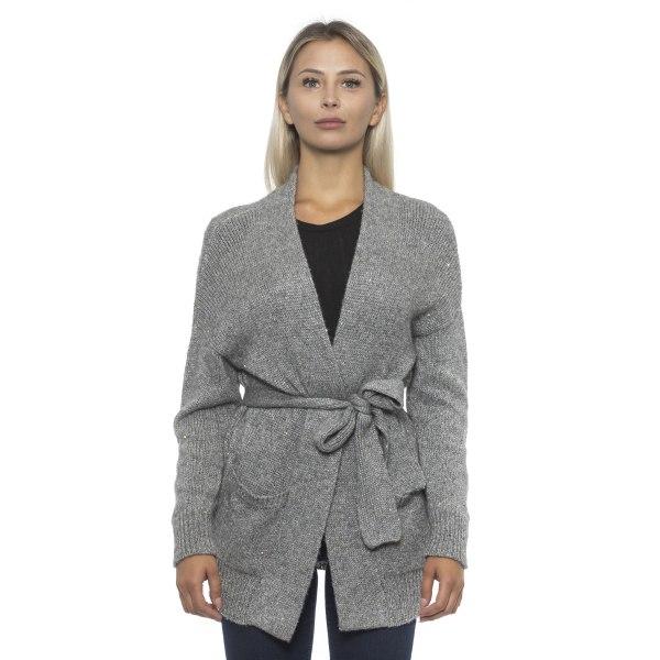 Cardigan grey Alpha Studio Woman 48