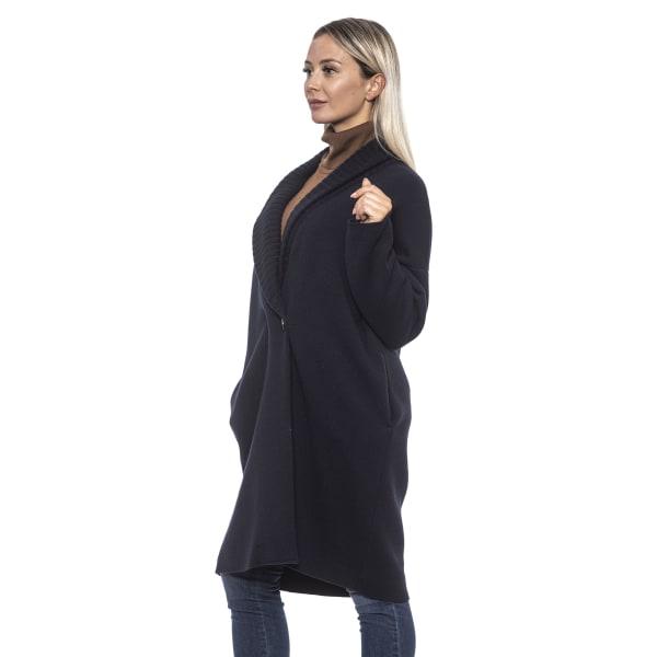 Coat Blue Alpha Studio Woman 48