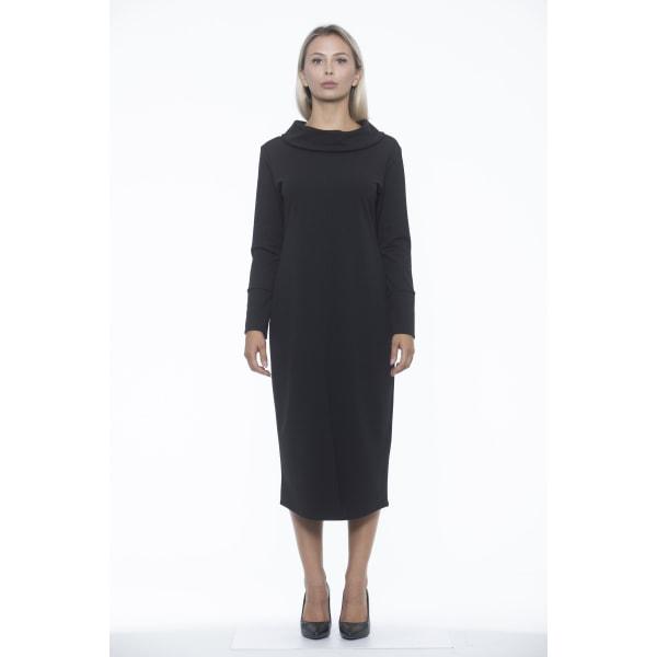 Dress Black Alpha Studio Woman 46