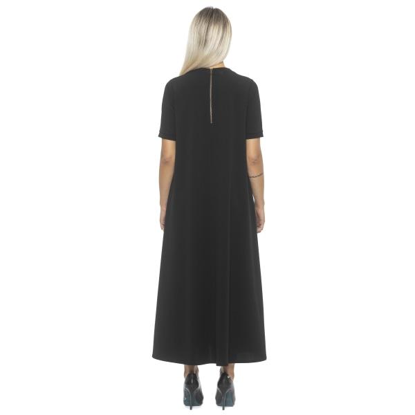 Dress Black Alpha Studio Woman 40