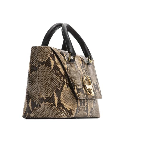Handbag Beige Cerruti 1881 Woman Unique