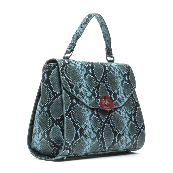 Handbag Blue Versace 19v69 Woman Unique