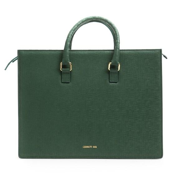 Handbag Green Cerruti 1881 Woman Unique