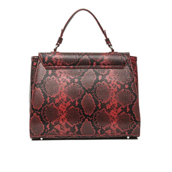 Handbag Red Versace 19v69 Woman Unique