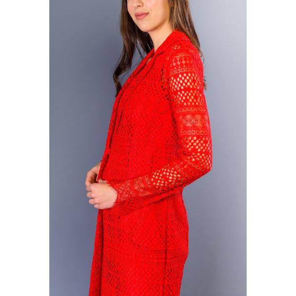 Jacket Red Twinset Woman UK 16 - XXL