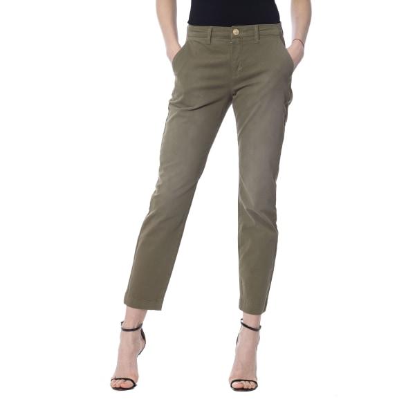 Jeans Military green Silvian Heach Woman W30