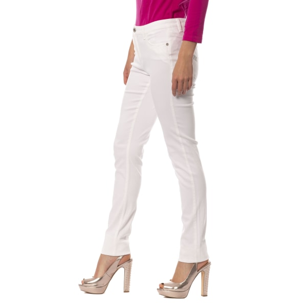 Jeans White Trussardi Woman W34