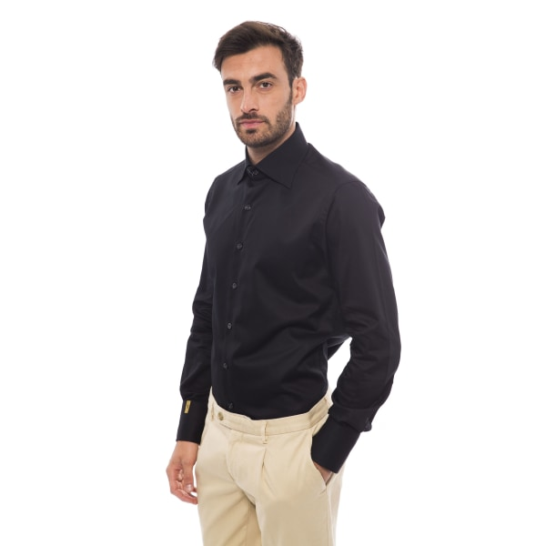 Long sleeves shirt Black Billionaire Man