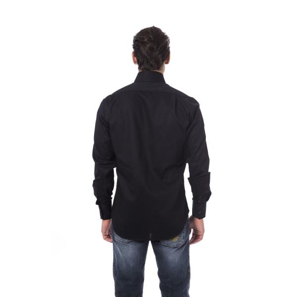 Long sleeves shirt Black Billionaire Man 41