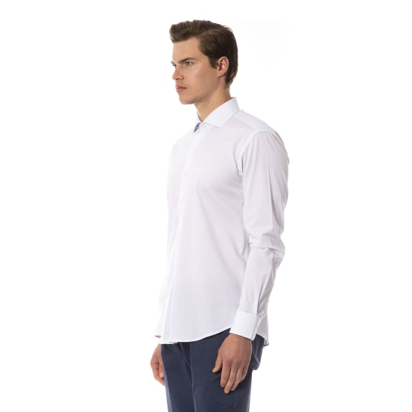 Long sleeves shirt Light Blue Roberto Cavalli Man 42