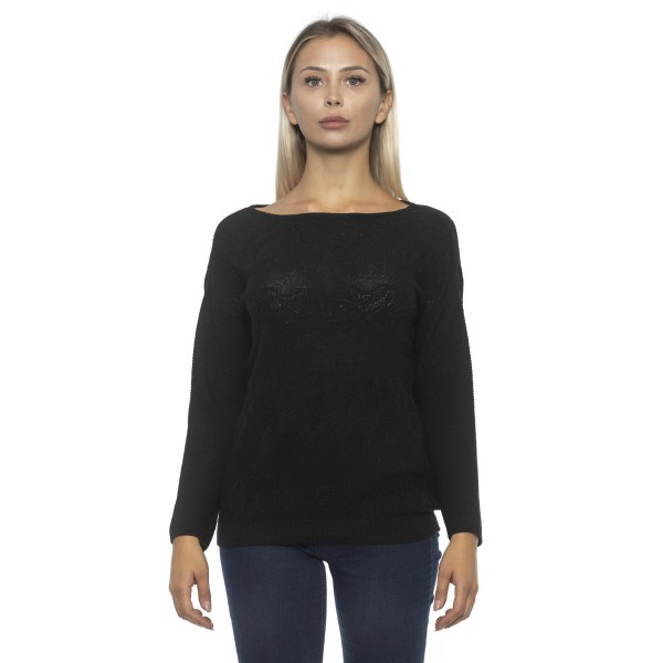 Pullover Black Alpha Studio Woman 46