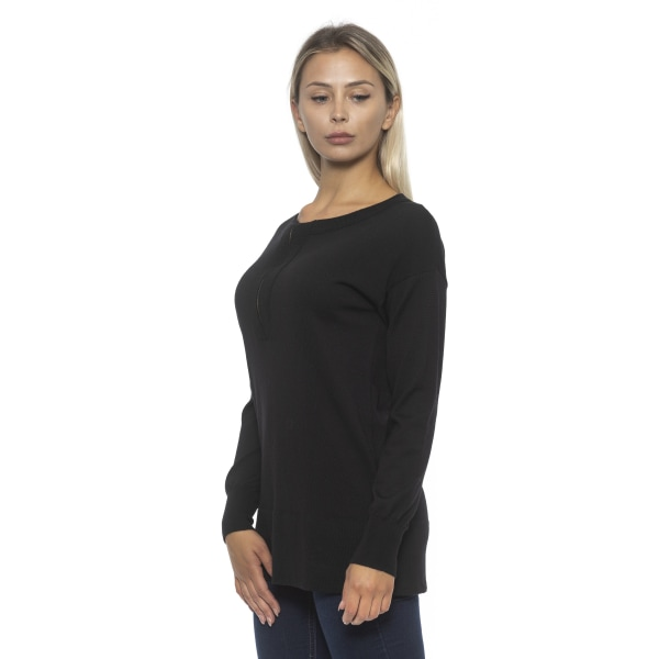 Pullover Black Alpha Studio Woman 44