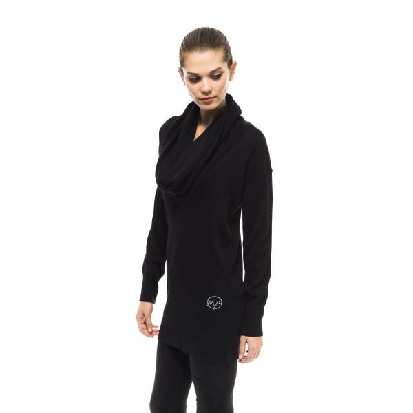 Pullover Black Montana Blu Woman UK 12 - L