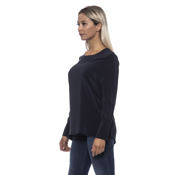 Pullover Blue Alpha Studio Woman 40