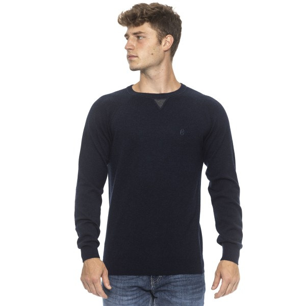 Pullover Blue Conte of Florence Man S